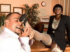 Excited hire. Lascivious Hire I don't hire just any man for the job. He has to be tough and strong, but also have the intuition to know when to be suave and gentle. The best way to test them is to see how they blowjob my toes and fucked my cunt. It also lets me know how well they take direction. This guy was definitely a shoe-in, pun intended. He tongue-bathed my stinky tootsies without hesitation, then gave my cunt the drilling it was craving.See More of Stacy Adams at LEGSEX.COM!