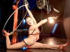 Bent out of shape over you. Bent Out of Shape over You  Ex-circus contortionist Katerina Kat is back with a video of her twisting and shaping herself into impossible positions. Watch as she lifts and tucks her legs behind her head and rubs her feet on her face. It's truly a sight to behold. This flexible feline likes to have her feet fucked, but really loves having her thighs pummeled by a huge one. I like it when a man squeezes my thighs together and rubs his erection on them and between them really slowly. I like long, heavy strokes.See More of Katerina Kat at LEGSEX.COM!