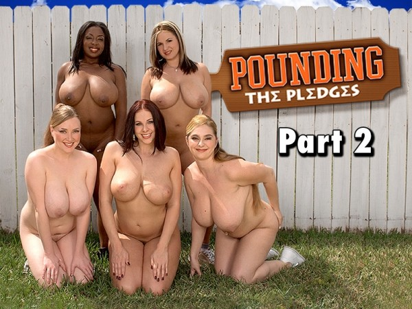April McKenzie Pounding The Pledges Part 2