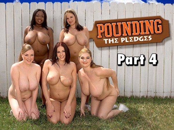 April McKenzie Pounding The Pledges Part 4