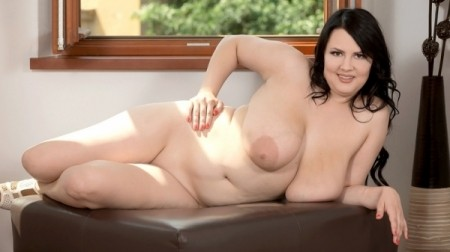 Barbara Angel - Solo BBW video