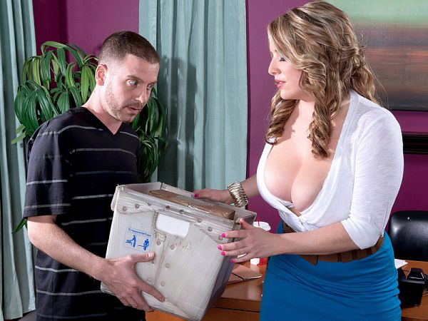 Maggie Green Fucking the office hottie scoreland2.com