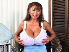Cam cumshot show. Cam cumshot Show This video was shot during The Mega-Boobs Olympics. Everyone was interviewed at various locations at different times by SCORE's editor Dave. Minka is wearing a bra, short skirt and sneakers. She's commando and her skirt doesn't conceal her bare cunt. First they talk about Minka's phone sex calls at home and what the guys like her to do. They discuss her thick cunt lips, her huge tits and what gets both her callers and Minka hot. Minka has a considerable sense of humor and is very funny. She fucks herself with a toy and plays with her great nipples, describing everything she's doing to herself in amazing detail.See More of Minka at MEGATITSMINKA.COM!