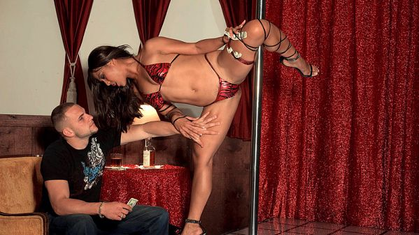 Max Mikita Strip Club Leg Vixen