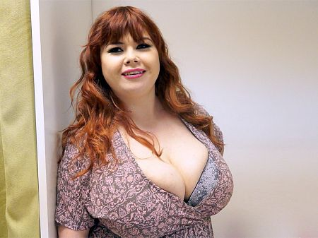 Roxanne Miller - Behind The Scenes BBW video