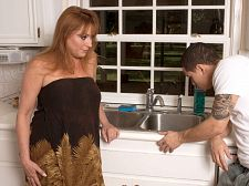 Have intercourse gigi's plumbing. Have sex Gigi's plumbing You know, sometimes we think we oughta have our heads examined. Here's Gigi Jewels. The first time she visited us, she said, I decided I wanted a relationship, and that's why I moved to South Florida. So what do we do We have her play a wife whose husband is cheating on her, make love tramps all over town, as she puts it in the opening minutes of this video.  Now, yeah, Gigi is only playing a role. But this is the kind of message we send to her That husbands and boyfriends cheat, even on their hot wives/girlfriends Not pleasant, gentlemen. Not pleasant at all. But then again, we don't want Gigi to get married or find a boyfriend. If she does, he might tell her to stop make love for us, and that definitely wouldn't be pleasant.  By the way, in this video, Gigi gets revenge on her fictional husband by make love a fictional plumber. But his cock is real, and her vagina and dick-sucking mouth are real, so in the end, we all get what we wanted.See More of Gigi Jewels at YOURWIFEMYMEAT.COM!