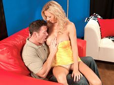 Heavy cock for the horny, fake-titted divorcee. Massive dick for the horny, fake-titted divorcee Brooke Tyler is a 43-year-old divorcee with big, fake boobs, and that's an important detail. Brooke got her big, fake boobs to attract men.  I love to make love young guys, Brooke says. With a body like this, I love to show it off.  Brooke says she likes to tease, but judging from this video, she doesn't do a lot of teasing.  Come blowjob on this clit and make it charming and big for me, she says. Make it grow. It'll grow even more after you start blowjobing on it.  Brooke tells us all the things she wants to do to our dicks and balls, and in less than three minutes, she's completely naked.  That cunt is charming and ready for you, she says, and to prove it, she lies back and spreads it. It's wet, it's pink. It's a wet, pink cunt, and very soon, it's going to be filled with massive dick. But first, Brooke is going to blowjob some dick. She is also going to talk dirty like the bitch she is.  A divorced bitch from Ohio. Yeah, Ohio. You'd think Florida or California, right Hey, horny, fake-titted bitchs who love cumshot all over their faces are everywhere. Why should Ohio be any exceptionSee More of Brooke Tyler at GRANNYGETSAFACIAL.COM!
