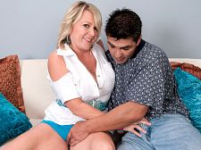 She loves to have sexual intercourse and it shows!. She loves to fuck and it shows! Morgan Monroe, a 47-year-old divorcee from Florida, makes her worldwide on-camera blowjob and have intercourse debut, and isn't it good that we get to watch it  Like many women who walk into our studio for the first time, Morgan was unsure about how much she wanted to reveal about herself to the world. Oh, sure, Morgan was fine with revealing her DD-cup tits and sparsely-haired pussy, and she was fine with blowjob and have intercourse a total stranger's cock. More than fine, in fact. But she held back when it came to ultra-personal details, like how we found her.  It's a miracle that you found me, she said.  A miracle Well, not quite. Morgan sent us her pictures. And why did she send us her pictures Because her friend, fellow MILF Jenna Bouche, told her to. And why did Jenna tell her to Because they're swinging friends. Because Jenna enjoyed her time here and thought Morgan would, too.  Judging by this video, Jenna was absolutely right. So welcome to the large show, Morgan. Your secrets are safe with our members. See More of Morgan Monroe at GRANNYGETSAFACIAL.COM!