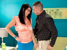 Dakota gets a mouthful. Dakota gets a mouthful I want to taste this nice, young violent cock, 41-year-old Dakota Riley says at the start of her first violentcore scene. I'm gonna take your cock and have it cumshot in my mouth.  Dakota's skirt is already up around her hips. Her hand is on his crotch.  Get your face down there, she demands. Taste that pussy. Get it wet for your cock.  Of course, when the suc and make love is done, Dakota opens her mouth for his cumshot, just as she promised, and swallows most of it.  Oh, that tastes so good, she says.  Here in our studio, Dakota is the nymph she loves to be. Back home in Ohio (where she was born and raised), Dakota is a pharmacy technician and a wife. And a swinger. She says she has sex six times a week and enjoys having a guy massage me and making me cumshot with a toy. Or his cock Even better, she said.  Her sexual fantasy is being picked up by a handsome guy and girl who want to make love both my hubby and I. We're sure that shouldn't be violent to arrange. See More of Dakota Riley at GRANNYGETSAFACIAL.COM!