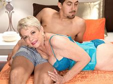 The ultimate creampie. The ultimate creampie A woman who knows what she wants: that's Lin Boyde, who leads her stud to the bedroom and tells him, I'd love to give that nice, hot penish a try.  Lin can't stop talking about his hot penish and his cumshotshot and how much she'd love a hot penish and a load of cumshotshot. She lies back and spreads her legs so the stud can rub her naked cunt. Then she leans over and give suck his penish through his boxers. Then she lies back again, this time to get her face have sexed. They switch positions, and Lin gets her old vagina have sexed. And then she opens up that old, used cunt so we can see what her stud left inside: his cumshotshot. It drips from her have sex hole, and she uses her wrinkled hands to open it wide so we can see deeper inside. Her vagina is now super-pink and pulsating, so now we have a 65-year-old woman who couldn't be more exposed. And that's what this scene is all about.  Lin, who was born in Santa Barbara, California and now lives in Tempe, Arizona (where she's divorced and have sexing a lot), is all about reading and rescuing horses and photography and have sexing in front of strangers in swingers clubs. She likes fresh flowers. And massive penish. She likes the feel of clean sheets. And cumshotshot on her tits and vagina. She loves the glow of candles. And the way her vagina shines when it has been have sexed properly.Not your typical 65-year-old Probably not. But who knows And isn't that the beauty of itSee More of Lin Boyde at CREAMPIEFORGRANNY.COM!
