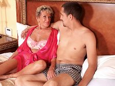 Sandra ann plays sticky face. Sandra Ann plays sticky face Proving that a woman is never too old to have sexual intercourse and do all kinds of nasty things, Sandra Ann, 75, our oldest MILF ever, gulp a voluminous cock all the way down to the knob, gets her very experienced cunt have sexual intercourseed in a variety of positions then takes a voluminous, sticky load of ejaculate all over her face. She loves it.  A voluminous load of ejaculate shows me that I did my man right, Sandra Ann said. When I'm giving a young man a blowjob job, I'm trying to blowjob the ejaculate right out of his balls. I think I did a charming job this time.  nice job by Sandra Ann, charming job by our stud. Of course, his job was easy. We'd all love to have it.  I'm a crotch watcher, Sandra Ann said. The first thing I look at is a guy's crotch. But then I always look at the eyes. I love eye contact.  She also said, I've had numerous threesomes, usually with a married couple. I love eating cunt and getting have sexual intercourseed. And I wank all the time. I use a dildo most of the time, one of two that I own. It never takes me more than a couple of minutes to have an orgasm.  Watch Sandra Ann. We're sure it won't take you more than a minute or two to ejaculate, either.See More of Sandra Ann at SILVERSLUTS.COM!