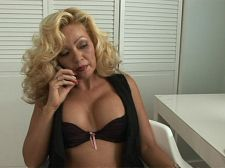 Why are female realtors so fuckin' exciting. Why are female realtors so fuckin' libidinous Get ready to know Kayla Ann, a 43-year-old divorcee from San Antonio, Texas. Kayla Ann is a realtor, which once again makes us wonder, Why are so many female realtors so fuckin' fuckable Will a man really plunk down hundreds of thousands of dollars for a house just because his realtor has charming boobs and a tight vagina  I've seen it happen, Kayla Ann said. Really. I've showed the same house to men who have been shown it before by a different realtor, and they buy it from me. I don't think it's because of my selling skills.  No, it's because at work, Kayla always dresses to show off her body.  Hey, you gotta do what you gotta do, she said, smiling.  We gotta jack to Kayla Ann, that's what we gotta do.See More of Kayla Ann at OLDHORNYMILFS.COM!