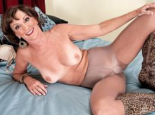 Sydni floats our boat. Sydni floats our boat It's worldwide showing my boobs and pussy on video for the first time time for Sydni Lane, a 61-year-old beauty from South Florida. Sydni is single (never married), and she's a massage therapist. We didn't ask her if being a massage therapist involves massaging guy's tools because we didn't want to be nosy. We do, however, like to use our imaginations. So, in our imaginations, it does.  Sydni enjoys figure skating and ballroom dancing. She likes going to art galleries and museums. Does that make her a nose-stuck-up-in-the-air high society girl No. Not at all. Because Sydni is also a nudist and a swinger. She dildos her pussy with the vibration on HIGH. She squirts when she's have sex right. She likes to have sex many times a day. She's into anal sex. And she recently had sex with a 28-year-old.  He was on his hands and knees, and I played with and sucked his tool and balls from behind, Sydni told us. Then I inserted a dildo in his ass, and he sat on it.  Okay, whatever floats your boat, Sydni. You float our boat. See More of Sydni Lane at OLDHORNYMILFS.COM!