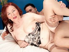 The 70plus milf and the 24-year-old stud. The 70plus MILF and