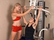 Butt exercise. Buttholey exercise Liz Summers, a 43-year-old personal trainer from San Diego, California, knows that exercising every day is a large way to stay in shape. But have intercourse is a large way to stay in shape, too.  I went through an exploratory sexual time when I was in college then it slowed down as I got older and then married, she said. I was loyal to my husband, and we had a normal amount of sex. But now I'm back to my old self, so to say!  Her old self  Yeah, she said, blushing a bit. I've been have intercourse a lot. But I never thought I'd be have intercourse on-camera.  I'm not your typical butthole slut, Liz said, laughing. I don't have a large ass, but I have a tight ass, and I love to have cocks in it. Of course, that's something I didn't discover until I got into porn. I'm glad I discovered it!  So are we.  It's lustful to be in front of the camera doing things that would shock many people, she said. So I love it in my ass. What's wrong with that  Nothing at all.See More of Liz Summers at YOURMOMLOVESANAL.COM!