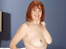 Pierced and stacked. Pierced and stacked Big-racked MILF Angie