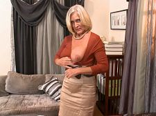 Southern belle shows off her boobs and pussy. Southern belle shows off her breasts and vagina I'm very much an exhibitionist, said Katia, a super-horny Southern belle who has lived in Alabama her entire life. To give you an example, most people who know me know I shave my vagina. That's because I flash it all the time. And I'm very proud of my breasts. I show them off every chance I get. So the people who know me won't be surprised by this at all. In all honesty, they're kinda expecting it.  Okay, so the people who know Katia won't be surprised by the sight of her baring her D-cup breasts and spreading her perfectly-shaved vagina for all the world to see. But they may be surprised to see her sucking, have intercourse and getting boned in the backsideed at YourMomLovesAnal.com.  That might surprise them, Katia said. But then again, everyone who knows me knows I have a lot of sex.  In this scene, Katia talks dirty to us. She tries on some horny lingerie, including a crotchless number. She fingers her beautiful, shaved vagina, models her big, firm, round backsideed and then fucks herself with a pink dildo that a fan sent her. Yes, of course she puts it in her backsideed.  What a birthday gift! she says, moaning. Yes, I'd love your violent tool in my backsideed. The violenter the better.  As she spreads her 50something vagina and keeps have intercourse her backsideedhole, you'll see why we love clbacksideedy Katia.See More of Katia at YOURMOMSGOTBIGTITS.COM!