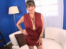 Busty bea, her 60something vagina and you. Busty Bea, her 60something kitty and you Bea Cummings, 67 years old in this video and one of the most popular GILFs ever, shows off her incredible body. Bea, who's married and lives in Kentucky, is appealing in many ways (her body, her face), but maybe the most appealing part of her is how lascivious she gets for the camera.  At the start of this video, Bea says, I'm Bea Cummins, I'm 67, and I'm hot and I'm lascivious and I know what you're doing right now. So why don't you just sit back, unzip and enjoy yourself because we're going to have some fun. Just you and I.  Bea talks to us a lot in this video, other than the times when she's fingering her very juicy kitty (you can hear it squishing when she slides a few fingers inside) or jiggling her voluminous natural tits or make love her old kitty with a dildo. Yeah, we said make love her old kitty. Nasty, right But not as nasty as a 67-year-old woman blowjob her fresh kitty juices off a dildo. She does that, too. See More of Bea Cummins at YOURMOMSGOTBIGTITS.COM!