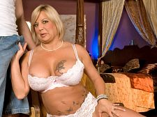 Mishka lee - fuck my old ass!. Have intercourse my old booty! Mishka Lee is from San Diego, California, which is normally considered a very conservative city. But Mishka Lee is anything but conservative. This 44-year-old divorcee is, in fact, very liberal when it comes to offering up her body for filthy sex.When this scene opens, Mishka is wearing a white bra and panties. The lace panties go right up the crack of her booty, which is important because her booty will get make love in this video. She slaps her booty and rubs it. Clearly, Mishka Lee is very proud of her booty, but she should be proud of her breasts, too, because they're huge.I need a beautiful hot young stud to come over here and have sex me good, she says to us. Let me sucks on that beautiful young dick.The guy comes over. He's already naked, and he stands above Mishka and stuffs his dick in her face. The bed creaks. She worships his dick. He have sexs her shaved pussy. The bed creaks some more, like it's gonna break. Her breasts wobble. She holds onto the bedpost because if she doesn't, he's gonna have sex her right off the bed. He shoves his dick in her booty and have sexs it so hard, you wonder how she and the bed can take it. He stands over her and piledrive-have sexs her bootyhole.Oh, give me all of it, Mishka Lee says. have intercourse that old booty!You could say Mishka Lee is greedy. After all, there's a lot of dick have sexing her bootyhole. Or you could just say she loves dick. We'll say she's a greedy dick lover and call it a day.See More of Mishka Lee at BUSTYOLDSLUTS.COM!