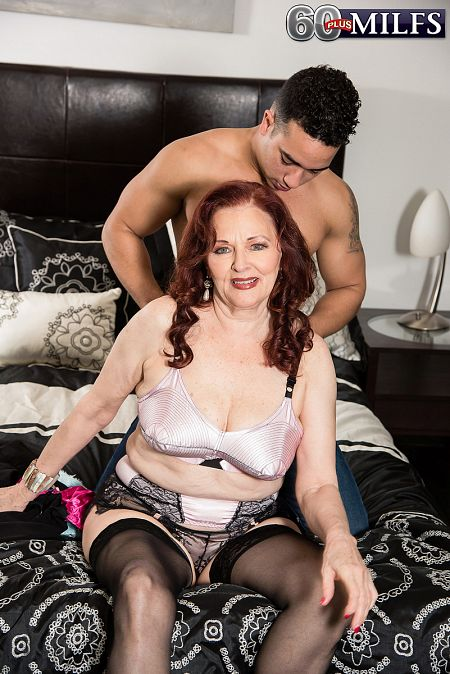 Granny erica lauren anal with young boy - 4 2