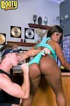 Hoochie on her hustle. Hoochie On Her Hustle  Kara Kane is a big-bootied mama who wants to be a star. And with her big cheeks that jiggle and her snug and horny asshole, she is definitely going places. And Kara knows that. That's why she is willing to hustle her way to the top, even if it means she has to drop the poom-poom on a few high-powered cocks to get where she needs to go. But Kara isn't the only floozy around. She is about to meet a white boy who's a janitor by day and a wannabe rapper by night. He may not be a CEO, but the minute he tells Kara that he can make her famous, she is droppin' her panties and droppin' it like it's hot on his cock. In this case, opportunity is knockin' and Kara Kane is knockin' boots.See More of Kara Kane at BOOTYLICIOUSMAG.COM!