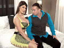 Eva karera - my wife's an exhibitionist. My Wife's An Exhibitionist Eva Karera isn't going out swinging with Tarzan. Eva's wearing a dress that shows her amazing ass cheeks and would be the hit of the party but she'd rather deep throat and have sexual intercourse hard. Priorities first!Eva talked about her move into porn.I would dress very libidinous to go to the swingers clubs, but in the rest ofmy life, I would be really shy, like not trying to get any attention. Not wearinganything libidinous. In the very beginning, I would work in my lingerie store, and once a week, I would teach diving, and every weekend would be when I would go to Paris to shoot porn, so it became too much. There wasn't enough time in the day. The exhibitionists and hedonists that Eva met while swinging led her to open a lingerie store.I was going to the swingers clubs, and I saw that people were always wearing different stuff, so I saw that it was a pleasant business. I thought, 'I'll work with women,' which was maybe not the best idea. It's very difficult to satisfy people who are not satisfied with their own bodies, and I was really young to own a store, and I would get bad comments from 45-year-old women who wanted to wear libidinous outfits for their husbands. They would say, 'You are lucky you can wear those type of clothes.' And I thought, 'I am not lucky. I go to the gym every day and I don't eat like a pig.' And I hated being stuck in one place all day waiting for customers. It was at that point that Eva went into porn full-time and never looked back. See More of Eva Karera at SCORELAND.COM!
