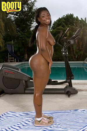 Keyona Kay - Solo Big Butt photos