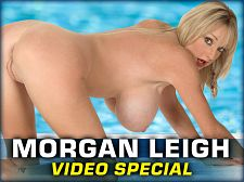 Morgan leigh - morgan leigh video special. Morgan Leigh Video Special In part one of this Morgan Leigh double-feature, the Brit blonde wears a skimpy swimsuit that's made for her slim and busty body. In part two, Morgan plays the kind of bartender only found in dreams.I loved playing with myself on-camera, and I loved going out on location and people watching me, says Morgan. I wear little tops and tube tops, and they always fall off. It's quite funny. I mean, I'll be walking down the street and a boob will pop out, and everybody will be watching and pointing. And I always wear bikinis to the beach, and my bikinis are really not the right size for me, and they quite often fall off. That's quite a scene, too!Welcome to Morgan Leigh's bar after Morgan's bikini bash. She's opened a new pub and you're invited to drink shots off her slim-n-stacked body. Sound nice Even though good Morgan shows her huge boobs within three minutes, you'll still be climbing the walls during those three minutes. Morgan's personal and up-close videos are hotter than many porn stars' hardcore scenes. Few come close to Morgan's talent for naughty talk in her Brit accent. She'd have made a voluminous phone sex operator. See More of Morgan Leigh at SCORELAND.COM!