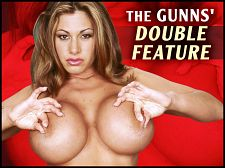 Crystal gunns - the gunns' double feature. The Gunns' Double Feature In part one of The Gunns' Double Feature, Crystal Gunns tries out one of the crazy make love machines created by KensTwistedMind. In part two, Crystal strips and lap dances in a scene filmed in P.O.V. Crystal's fans are still as ardent as ever despite the fact that she's no longer dancing and modeling. One fan from Canada even has a tattoo of Crystal (he sent a picture of it) and tries to collect every video and photo she ever shot.One guy wrote an essay about me for a college class, said Crystal. He's from Florida. He got an A on it. I actually have a copy of it somewhere. It was supposed to be a paper about memorable people or different people, and he decided to write about me. I'll never forget it. He came to the club, and he was there every night. He just sat there and just watched and wrote and wrote and wrote. See More of Crystal Gunns at SCORELAND.COM!