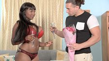 Marie leone - boozy big-boobed butt bang. Boozy Big-Boobed anus Bang Marie Leone greets courtly Tarzan with bubbly when he shows up with flowers. Marie pours the bottle over her large great tits and Tarzan greedily licks her sucklers. She pours some on his cock so she can get her licks in also. Marie treats him to her special tit-fuck and BJ, then spreads her cunt and bootyy for his pole. Whatta babe. We spoke to Marie about this scene and other erotic topics.SCORE: How was Tarzan as a partner What did he do for you sexually that you liked the bestMarie: Tarzan's performance as a sex partner was as good as any girl could ask for. He has a very handsome body and I enjoyed him sexually, especially when he licked up the spilled sparkling wine from my breasts. I definitely enjoyed it when he have sex my cunt from behind!SCORE: What's your favorite booty sex positionMarie: I enjoy being on top when I do booty since I feel in control.SCORE: What's your favorite SCORELAND boy-girl scene and who is your favorite SCORE partner Marie: My favorite boy-girl scene is Maid for anal and even though I loved and enjoyed Rocky in this scene, my favorite SCORE male partner would have to be JMac in The Sex Adventures Of busty Marie. He was so easygoing and funny off the set.SCORE: Your favorite solo SCORE sceneMarie: My favorite solo scene I did at SCORELAND will have to be Super Titter.SCORE: You and Tarzan pour sparkling wine on each other and lick it off. Do you ever do that at home or with any other foods or beveragesMarie: Being with Tarzan was actually the first time I experienced the use of a beverage in sex. And it was a very fun and sticky experience!SCORE: Thank you, Marie. See More of Marie Leone at PORNMEGALOAD.COM!