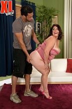Rikki waters - testing the waters. Testing The Waters When Rikki Waters's play mate Carlos sees her good bod and her big, fleshy ass, he must have sexual intercourse her. Rikki says that on the web she is known as Darling Rikki where she is a plus-size fem-dom who bosses dudes around. I like to top men, Rikki says. Well, you know what that means, and it ain't the cowgirl position. Things are different here in XL Girls. Men are the kings at XL Girls and they're into have sexual intercourseing hot, chubby chicks in as many positions as possible. We love complaisant girls on their knees, staring at the camera, suc penish and licking balls. Pussy-filling and lots of tit-have sexual intercourseing rule, and if we all get extra-lucky, the honey gives up her butt-hole too. Even though I'm assertive, I want the man to make the first move, says Rikki, proving that all women share a few common traits. I like to feel like I'm the center of a guy's attention. Rikki's eventual goal is to own a clothing store for plus-sized women. But first, the nice bra-buster must burn off her wild oats and satisfy her powerful libido. See More of Rikki Waters at XLGIRLS.COM!