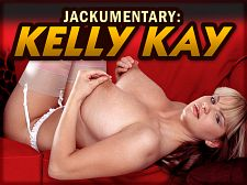 Kelly kay - jackumentary: kelly kay. Jackumentary: Kelly Kay Kelly made her official magazine cover girl debut in October '04 SCORE  when she was 18. Kelly would be filmed in London and in Spain but she never came to the USA, unfortunately. She was very shy at first but over time she gradually opened up when she was ready.Kelly got hotter, using great toys and trying girl-girl sex with Czech bra-buster Bozena but she mostly modeled alone. She also posed pregnant. Kelly proved to be not shy at all but she wasn't keen on trying boy-girls and never did.Liverpool resident Kelly was 18 years old when she was spotted by Linsey Dawn McKenzie. Linsey told the SCORE studio people about this busty teenager with a 42-inch chest and shapely body. Kelly was immediately invited to model. Kelly had seen models in magazines and tabloid newspapers and thought about posing even before her opportunity ever came up.Kelly had never modeled before and took to it, even though in the beginning, she was as shy as Nicole Peters. Kelly was living at home with her mum Jane and going to school. Her mother accompanied her to her first shoot in London and eventually posed for 40Something magazine. Said Jane, Seeing Kelly pose, I was quite keen on trying it myself, to live the fantasy my little girl is living. The head of the studio said to me, 'I'd like to see you pose, mum!'Kelly retired from modeling to become a stay-at-home mother.  See More of Kelly Kay at SCORELAND.COM!