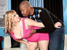Shyla shy - black in shyla shy. Black In Shyla Shy Shyla Shy is dressed like the farmer's daughter. Shyla is hanging with Lucas at SCORE. Shyla stands up at his instruction and she turns around to show her ass, legs and tits. She was made to be have sexual intercourse good. Lucas plays with Shyla's 38G 46 inch hooters. A breast-man like him could just latch onto those all day but he knows better. Didn't Shyla once bemoan an ex-boyfriend who was interested in only her tits in a curvy interview Whenever we were in bed, he didn't want to have sexual intercourse me normally, he just wanted to have sexual intercourse my tits, and he always wanted to ejaculate on my tits. I'd have to say to him, I have a pussy, you know!' But all he wanted to do was have sexual intercourse my tits, and that got old. Guys who date girls with great boobs have to know that they're more than just a pair of tits. Their entire anatomy needs attention. Shyla likes demanding, assertive guys, not guys she has to wind-up to have sexual intercourse her. She likes violent sex but only when she's doing the violent stuff like bouncing violent in cowgirl. Don't bite my nipples. They're too sensitive, Shyla has said in her chats with V-mag editors. Lucas removes the blonde bunny's thong panties, lays Shyla on the couch and eats out her shaved cunt, getting it wet and prepared for have sexual intercourseing. But first, he must feed her the BBC. She blowjob the black pipe hands-free, then hand-jerks and blows it. He directs Shyla on how to mouth-worship his meat in low tones that the mikes can barely pick up. Shyla is the kind of girl who appreciates and respects being directed and instructed by her sex dates. No time spent with Shyla can pass without have sexual intercourseing her tits. This time, she kneels and squeezes her boobs, mashing them together while she uses her hands to massage the pipe. Lucas quietly orders Shyla to sit on his lap. She will be mounted on his pole and the have sexual intercourseing will begin.  See More of Shyla Shy at SCOREVIDEOS.COM!