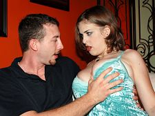 Brianna bragg - tit-fuck tryout. Tit-Fuck Tryout Brianna Bragg looks like the girl-next-door, talks like the girl-next-door and fucks like the girl-next-door. That's why she's so easy to jerk off to. Before Brianna Bragg tried great-boob porn for a year, she was a Specialist Grade E4 in the Army. Private First Class Bragg learned a great deal from her time in the military, such as how to follow orders. Here she follows orders such as blowjob my cock and sit on it. A military brat, Brianna Bragg left many a porn stud fatigued and we have the pictures and videos to prove it. Brianna likes bossy guys who are not shy about getting a girl to put out. Sexually, I'm up for anything but I really just like normal stuff, nothing crazy, says Brianna. The first time I had sex, my boyfriend at the time lasted about 30 seconds. Terrible. But the guys in porn have great cocks and do a good job.Brianna Bragg is wheeling a shopping cart across the parking lot of a supermarket. You can't help but notice Brianna's natural, great tits from 100 feet away. The Tit-Fuck Tryout team stops her with their breast test, drives her to SCORE and films Brianna dancing on Ashley's pole.  See More of Brianna Bragg at SCOREVIDEOS.COM!