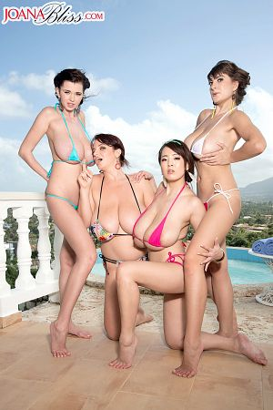 Bikini team. Bikini Team On-location in the Dominican Republic