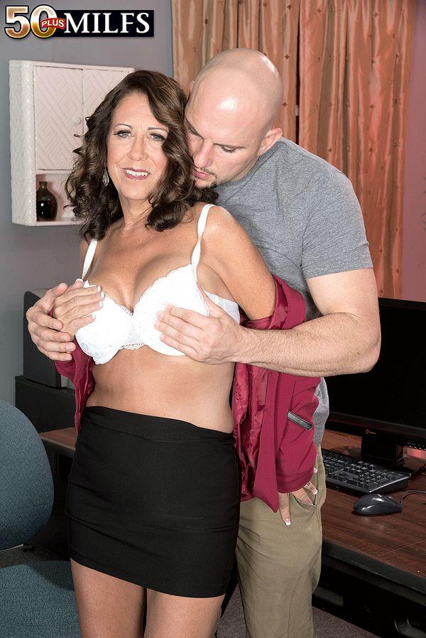 Another huge cock for Karen Deville