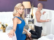 Alexis fawx - mature hottie of the month. Mature Hottie of the Month I never wear underwear in my personal life, said our Mature Hottie of the Month Alexis Fawx who wears a bra, garters and little panties that JMac pulls to the side so he can lick her vagina and then fuck her hard.Alexis is a licensed massage therapist by profession. She joined the Air Force after high school, then went to college after the military and moved to Florida. Alexis started doing porn in 2010 after seeing an ad and, after a break, has kept at it ever since. My kind of guy is a non-smoker, in shape, healthy and heavy in the manhood. I like men who can make me laugh and how he treats people is important. Porn star Tony Rubino introduced Alexis to The SCORE Group. Alexis loves sex. Getting into porn was natural for her. I've had sex with guys as young as 18. I prefer guys around 25. The 18-year-old wasn't experienced enough. See More of Alexis Fawx at SCORELAND.COM!