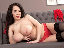 Hitomi - the miracle of hitomi. The Miracle of Hitomi One of the all-time greatest slim naturals, Hitomi is once again SCORE Model of the Year. This is the third time that readers have awarded the pretty girl from Tokyo with this title. Red lingerie suits Hitomi, and the best part is seeing her peel it off to give us a voluminous boob bonanza with nipple self-sucking and pussy-rubbing. Hitomi is in Prague this time, mainly to get it on with Lily Madison and lick Lily's pink.D.K. from Oyster Bay, New York found his happy place reading the contest results and let us know. I didn't think we'd ever see the day that one girl would win Model of the Year three years in a row, but Hitomi has done it! I don't know if this makes her the greatest SCORE Girl ever, but it definitely puts her in the discussion. This is an especially notable feat considering that we live in a time when everyone is always asking for the new thing. It just goes to prove that a beauty like Hitomi never gets old. See More of Hitomi at SCORELAND.COM!
