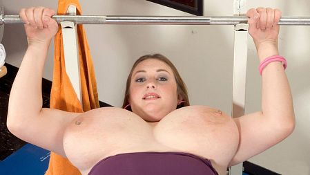 Alice Webb - Solo BBW video