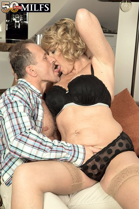 A British MILF's first time