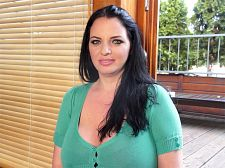 Joana bliss - tit chat. Tit Chat The large Joana Bliss chats with our photographer on a terrace overlooking the street. It's too windy and not conducive to recording a conversation so they move indoors. The statuesque stunner tells us a little more about her background and her interests and also shows us one of the abdominal exercises she does. Anytime we see this inviting woman, we are hit with brain freeze and get boob drunk. This time is no exception! See More of Joana Bliss at SCORELAND.COM!