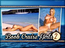 Angel eyes - boob cruise girls 2 Boob Cruise Girls 2 Boob Cruise Girls 2 features knockout brunette Angel Eyes, who opens this edition, followed by Summer Leigh at the surf and doing acrobatics on the bow of the ship Star Clipper and ends with Heather Hooters in a wooded area on one of the islands. These three had everyone on-board panting the entire trip. Summer Leigh was offered the job of writing a diary for the Boob Cruise week and she accepted. This is an excerpt that describes Summer's shoots seen in this video.The island is gorgeous. It's a small one called Green Cay. At first we started shooting at the ass of a palm tree, but I told the photographer I wanted to go by the water. What a long day! Fun though! When I finally got back to the ship, what did I end up doing Masturbating No, I wish! I did more posing on the bow of the ship while we sailed to a place called Soper's Hole where we anchored.At night, the girls performed their striptease routines on-deck as the guys clicked away or rolled their video cameras. A lot of money could have been made that week running a tissue concession. Strictly for camera lens cleaning purposes, of course. See More of Angel Eyes at SCORELAND.COM!.