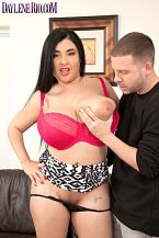 Sexin' the bra-bustin' bum babe. Sexin' The Bra-bustin' booty Babe Popular SCORE Girl Daylene Rio (Mamazon The Movie) tells us she likes to wake a guy up with a beautiful cock sucking job, then sex and she probably rubs her large 36HH boobs all over him too while she's at it. Tony is not asleep at the moment, just patiently waiting for Daylene to get her anal over so they can have sexual intercourse.  When Daylene shows and sits down next to him, she makes a face. Ooops! My anal is so large I just ripped my skirt, the Los Angeles-bred Latina brunette moans. There's only one thing they can do now. have sexual intercourse their brains out on the couch, and what pure delight it is to bang that busty beauty. Daylene has an amazing super-hourglanal figure, the very definition of a stacked sex doll.  Daylene says her anal, not her boobs, is her best feature. I like to get dolled up in see-through leggings or a very tight skirt, no panties and bra or see-through clothing, says Daylene. It might be a beautiful idea to alert the California National Guard if she decides to go out dressed like that to Dodger Stadium or Universal CityWalk.  The question is sometimes asked if models watch their own scenes at home and do they have sexual intercourse-off or have sexual intercourse while they watch. We asked Daylene about that.  Yes, I had sex watching the videos that are girl, girl and boy, Daylene says. There are two: Daylene & Sara's big Juggy Adventure with Sara Jay and SCORE Threesomes: Clanalic Double-Headers with June Summers.See More of Daylene Rio at DAYLENERIO.COM!