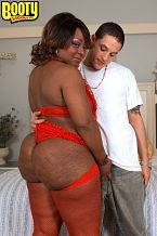 Needs a real man. Needs a Real Man Amira Jones is a whole lotta woman with a whole lotta backside. She has the kind of backside that will clap on your penish while you hit her from behind. It's the kind of backside that gives just the right amount of cushion for serious fuckeding. This is not an backside for the weak or the inexperienced because if you cannot break Ms. Jones off, she will send you walking. I need some excellent fuckeding. I'm talking about the real deal. I can't stand men who talk all sorts of shit about how they are going to tear me up and then, when push comes to shove, they are just two-minute brothers. Look at my backside, baby...does it look like two minutes is going to cut it I don't think so. If you want to work me over and rock my world, you better be prepared to fucked me for a while. I don't do quickies. I need to get the full-body treatment. I've got lots of curves that need servicing so get it and get it good. See More of Amira Jones at BOOTYLICIOUSMAG.COM!