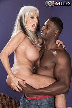 Sally takes on Jax Black's large cock