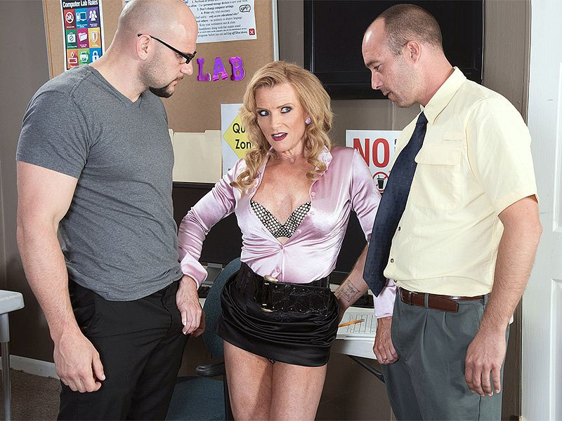 The three way anal fucked cock she fucking