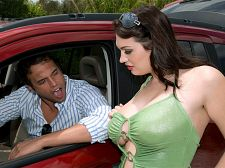 Cassandra for rent. Cassandra For Rent Bros before hos Screw that, Jack. You and hos cumshot first, and your focus is on stacked babes built just like Cassandra Calogera. Now here's the question. If you were driving alone on some hillbilly road and Cassandra came out of the bushes dressed to have sexual intercourse and looking for action, what would you do After you asked her what the have sexual intercourse a girl like her was doing in a deserted place like this, because this sure as hell is not the Las Vegas Strip.   Our hero stops for her, waves some mean green and gets down to business on her large tits. She suc his tool like a champ in the car, then they head to his bed for a hot pipe-fitting. He busts his nut on Cassandra's large jugs and his next move is to send her on her way back to Mama or whatever the have sexual intercourse her bookkeeper's name is. Cassandra was one appealing ride. She may have burned a lot of his gas but she gave him plenty of soft ass. Now all he has to do is get her out of his place unless he hires her as a full-time live-in maid. That could add up but she'd be worth it.See More of Cassandra Calogera at SCOREVIDEOS.COM!