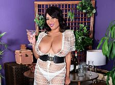 Danni's happy hour. Danni's Happy Hour I've watched my scenes at SCORELAND, Danni Lynne said, a smile crossing her succulent lips. Alone...at first. I loved them. I haven't had sex--yet--with any of them playing. The idea of that sounds hot. I have to say that after seeing them I am more confident now than I was before I made them. I've said before that I like the idea of all the guys out there seeing my pictures.  Suppose Danni was having a drink at the bar during a party, like she is in this scene, and she checks out a guy. What would she do  I'd walk over and give him a drink and take it from there. If we were alone, maybe I'd put on some exciting music and do a strip tease for him. I like a man who can make me laugh, cook inviting food and give me full body rubs. I like to have long talks about everything, especially if he's a cultured man. See More of Danni Lynne at SCORELAND.COM!