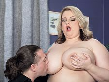 Guess what i'm a bbw porn star!. Guess What I'm A BBW Porn Star! Porsche Dali waits for Tarzan to drop by. When he shows, he's got an XL Girls magazine in an envelope. He's spotted a picture of Porsche 42GG Dali and now he's curious about the girl he's sitting next to on the couch. So it turns out that Porsche is a BBW porn star with seven XL Girls DVDs and numerous magazines to her credit. Now Tarzan wants to know all about it and wonders if he could appear in porn too. Porsche is happy to show him how it's done right then and there!  XL Girls: Porsche, you've been a feature at XL Girls since 2010. How did you first find out about us   Porsche: I'd seen your magazines before. I'd been a fan for a while.   XL Girls: You're a model but do you like to watch porn in your free time   Porsche: Yes, I do. I like all different kinds of porn, not only BBW porn. Lots of boy-girl, lots of girl-girl. Anything with Briana Banks in it.   XL Girls: Are you into girls, personally   Porsche: I'm bi. But I haven't been in relationships with girls. I've just fooled around. I like big-breasted blondes. I guess my first girl experience at college was pleasant kinky. I had toys so we were just going at it with each other like crazy! See More of Porsche Dali at XLGIRLS.COM!