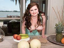 Savana\'s pretty melons Savana\'s lovely Melons Chubby and